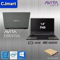 Laptop AVITA Essential Celeron N4000 4GB/SSD 128GB/14 FHD/ Win10 ORI