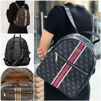 Guess List Vintage Big Backpack Ransel Vintage Murah