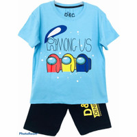 Setelan kaos baju anak laki laki size 1 2 3 4 5 6 7 8 9 10 tahun #2247