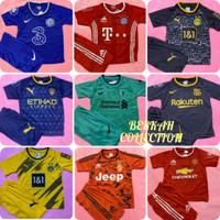BISA COD/ Stelan baju bola anak lengkap dan termurah/ jersey kaos bola