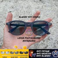 kacamata anti radiasi moscot billik photocromic / blue ray/ bluecromic