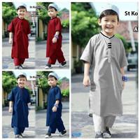 Setelan gamis anak laki Baju koko anak pakistan kerah kurta turki