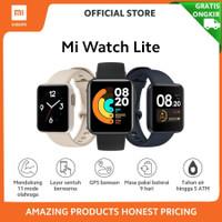 Xiaomi Mi Watch Lite Smartwatch 11 Mode Olahraga Garansi Resmi TAM - Hitam