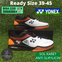 Sepatu Badminton Bulutangkis Olahraga Yonex Power Cushion Z2M Orange