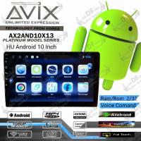 Headunit Doubledin Android 10inch AVIX RAM 2GB / ROM 32GB