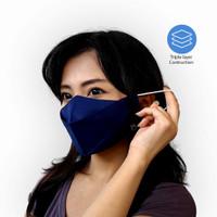 Masker duckbill/masker earloop/masker kain/masker hijab/masker evo