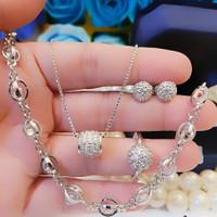 Xuping set perhiasan wanita 19c2