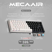 Digital alliance Keyboard Gaming Meca Air Black