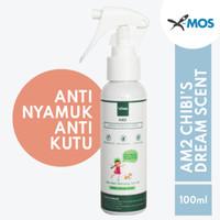 Anti Nyamuk Anti kutu X-MOS AM2 100ml Spray - Chibi's Dream Scent