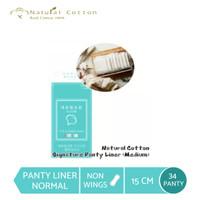 Natural Cotton Signature Panty Liner (Medium-15cm) 1 Pack (34pcs)