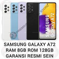 Samsung Galaxy A72 8/128 RAM 8GB ROM 128GB GARANSI RESMI SEIN