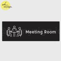 SIGN BOARD MEETING ROOM   SIGN OFFICE KANTOR   DOOR SIGN