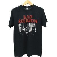 BAD RELIGION LIVE 1980 (Kaos band official merchandise t-shirt)