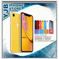 APPLE IPHONE XR 64GB ORIGINAL FULLSET GARANSI 1 TAHUN ALL OPERATOR