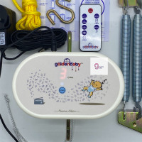 MKS - Ayunan Listrik / Ayunan Bayi Elektrik Golden Baby Premium Remote