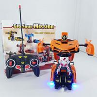 rc mobil robot bumblebee deformation