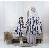 Tunik Couple Firdha Ibu Anak Maxkenzo Baju Dewasa Berkualitas