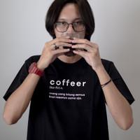 Kaos Kopi Coffeer T-shirt Barista
