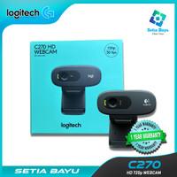 Webcam Logitech C170 Webcam HD 720p C270 Original Camera Streaming - C-270