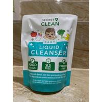 SECRET CLEAN BABY LIQUID CLEANSER PEMBERSIH PERLENGKAPAN BAYI - 450ml