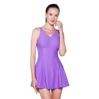Opelon Dress Suit - Purple - Baju Renang Wanita