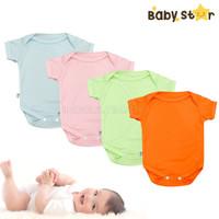 Jumsuit BABY STAR 0-6bln Jumper kaos Baju Bayi Perempuan Laki Laki