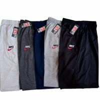 PAKET HEMAT (3pcs) celana pendek pria/wanita jumbo celana baby terry - S