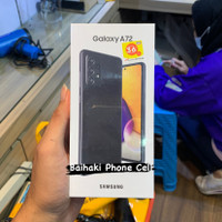 Samsung A72 (8/256) GB ( Free Tempered + Silicon ) Garansi Resmi Sein