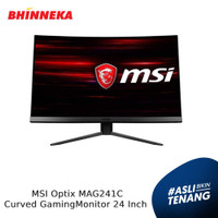 MSI Optix MAG241C Curved Gaming Monitor 24 Inch