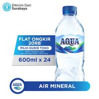 AQUA Air Mineral 600ml x 24 (1 box) - SBY