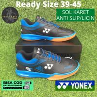 Sepatu Badminton Bulutangkis Olahraga Yonex Power Cushion Z2 Men Biru