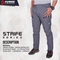 avaress promo celana gunung celana outdoor bahan quick dry tipe stripe