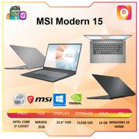 MSI MODERN 15 i7 1165G7 16GB 512ssd MX450 2GB W10 15.6FHD -A11SB.070