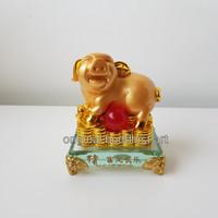 patung shio babi emas import