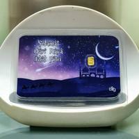 Logam Mulia BIG 24k emas mini 0,1 gr ~ edisi Lebaran Idul Fitri