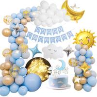 Set Dekorasi Ulang Tahun Anak Dewasa Balon Pesta Birthday Kado Ultah