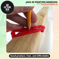 Alat Pencari Pusat Center Finder For Edges 3D Print Bandung WICTMGS
