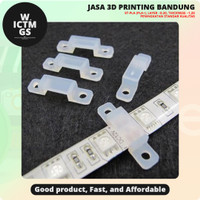 Klip Penjepit Fixer Clip For Led Strip 3D Print Bandung WICTMGS