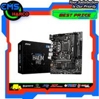 MSI H410M PRO (LGA1200, H410, DDR4, USB3.2, SATA3)
