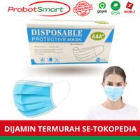 Masker 3ply Disposable isi 50 PROMO !!! Masker Non Medis Denka