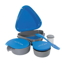 Paket alat makan camping traveling Bowl lunch set dhaulagiri