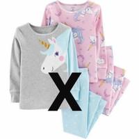 Carters Pajamas Girls Set | Setelan Baju Tidur Anak Cewek Part 6