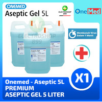 ONEMED - Aseptic Gel 5 Liter / Refill Hand Sanitizer / Antiseptic Gel