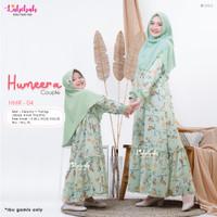 HMR 04 Baju Muslim Gamis Couple Ibu Anak Humeera Green