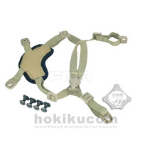 Tali Helm Tactical Balistik FMA Suspension Chinstrap Retention X-Nape