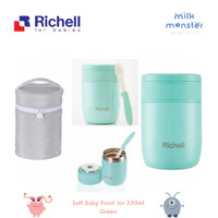 Richell Baby Stainless Food Jar / termos makan anak