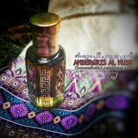 6ML Ambergris Al Musk Parfume Oil(Parfume Arab Minyak Wangi Nabi)