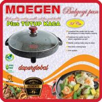 bulgogi pan 32 cm MOEGEN / alat panggangan BBQ / marble grill