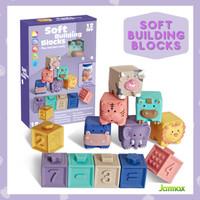 Mainan edukasi anak & bayi Soft building blocks / mainan susun balok