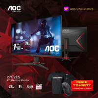 AOC 27G2E5 FreeSync Gaming Monitor FHD 27 75Hz 1ms IPS